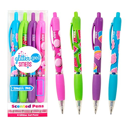 Scentco Glitter Gel Smens 4-Pack of Gourmet Scented Pens]()
