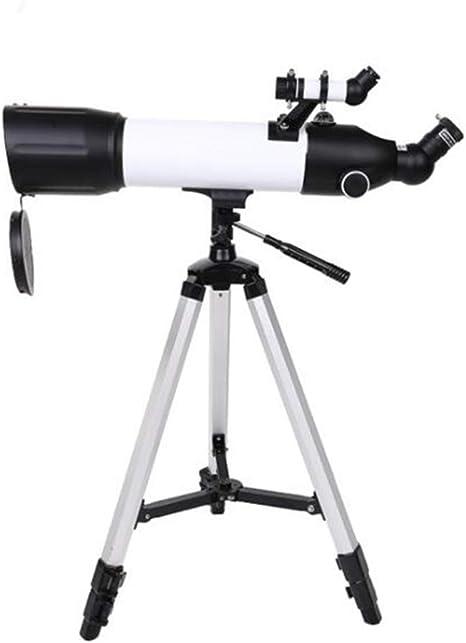 XUMENG Telescopio Astronómico para Niños Adultos Principiantes, Telescopio Refractor HD De 500/80 Mm para Astronomía, con Trípode Ajustable, Adaptador para Smartphone: Amazon.es: Deportes y aire libre