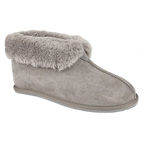 Warm Bootee Camilla Graphite Drapers Lined Slippers Womens F0SqwE