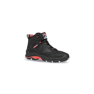 U POWER ENGINE, Chaussures de sécurité pour homme - Noir - Noir/rouge, 46 EU