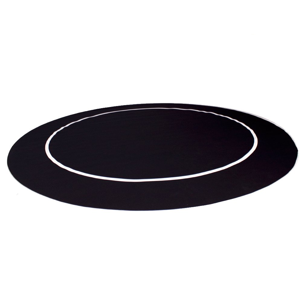 Brybelly GFEL-401 Sure Stick Poker Table Layout with Rubber Grip Matting (Black, 60-Inch)