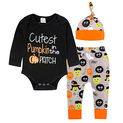 Baby Romper,AutumnFall 3PCS Newborn Infant Boy Girl