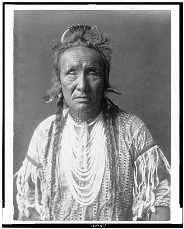 Indianer Frisur | Amazon De Foto Grizzly Bear Piegan Indianer Kleidung Kleid