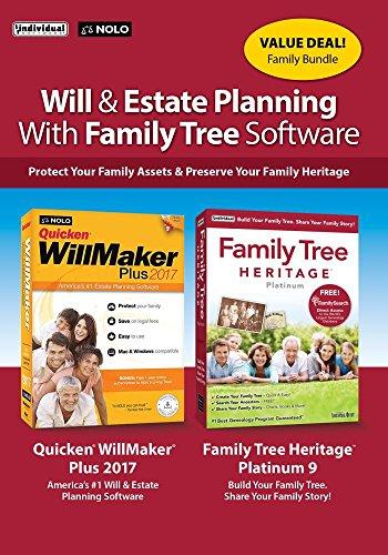 Individual Software WillMaker Family Tree Bundle [Amazon ...