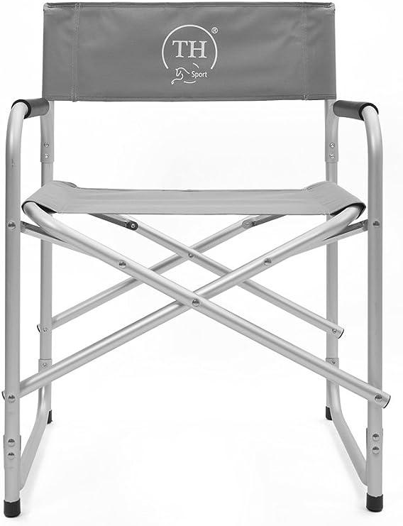 Aluminium REALISATEUR Chaise Avec Côté Table Camping Voyage