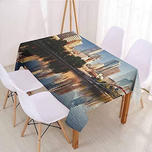 ScottDecor Picnic Cloth Dinning Tabletop Decoration W 70