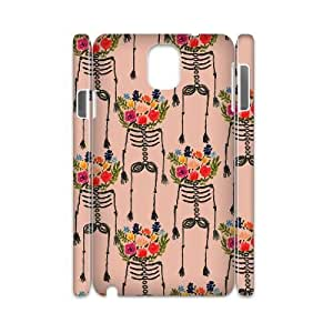 Personalize Color flower Skull Cell Phone case Samsung Galaxy Note 3 N9000,Cover for Samsung Galaxy Note 3 N9000,Custom Color flowers skeleton Cover Case for Samsung Galaxy Note 3 N9000 moye-9771112 at monye.