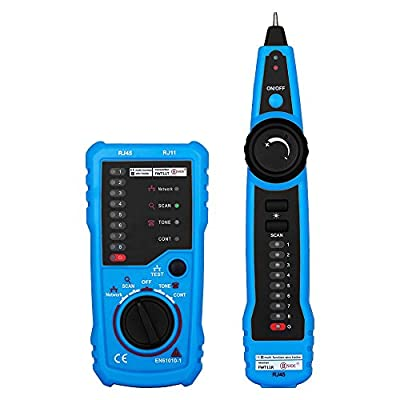LingsFire RJ11 RJ45 Cable Tester Line Finder Telephone Phone RJ45 RJ11 Wire Tracker Check Ethernet LAN Cable Tester Cat5 Cat6 Wire Tester