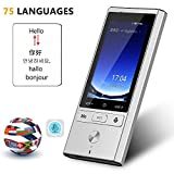 OOOUSE Smart Language Translator Offline, Support 75 Languages 2-Way Instant, 8 Languages Offline Translation, 4G WiFi Mobile Hotspot Connection, Photo Taking and Recording Translation Function