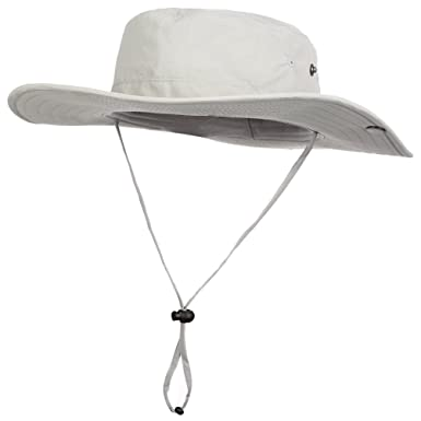 dad9f8e8e13 VBIGER Military Boonie Hunting Fishing Hat UV Protection Sun Hats for Men (2-Light  Grey)  Amazon.co.uk  Clothing