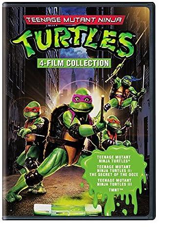 4 Film Favorites: Teenage Mutant Ninja Turtles (Teenage Mutant Ninja Turtles, Teenage Mutant Ninja Turtles 2, Teenage Mutant Ninja Turtles 3, (Turtles Dvd Collection)