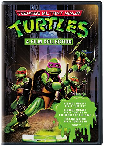Ninja Turtle Movie (4 Film Favorites: Teenage Mutant Ninja Turtles (Teenage Mutant Ninja Turtles, Teenage Mutant Ninja Turtles 2, Teenage Mutant Ninja Turtles 3, TMNT))