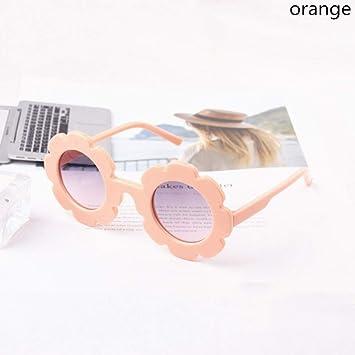 LLLM Gafas de sol Flor de Sol para niños Gafas de Sol niños ...