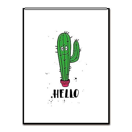 Cactus minimalist. Amazon com wsloftygyd cartoon