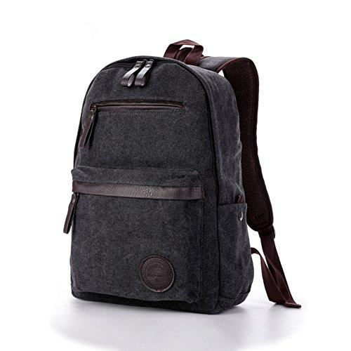 Bolso de hombro de los hombres/[mochila]/Bolsas de la escuela/Bolsos de la lona casuales/Bolso de la computadora-B B