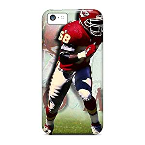 Best-phone-covers Iphone 5c Anti-Scratch Cell-phone Hard Cover Allow Personal Design HD Kansas City Chiefs Skin [ztW728uLyL]