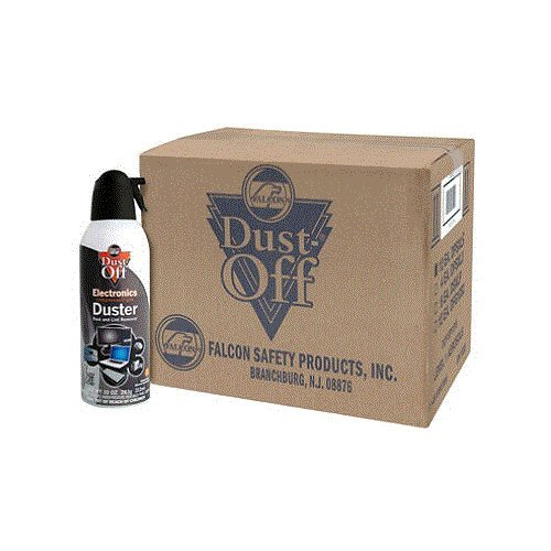 (Dust-Off Compressed Gas Duster, Pack of 8)
