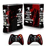 zombie controller for xbox 360 - Mightyskins Protective Vinyl Skin Decal Cover for Xbox 360 S Slim + 2 controllers wrap sticker skins Kill Zombies