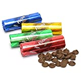 Flicks Chocolate Wafers Candy Tubes 12 Count