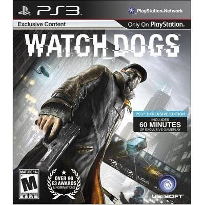 Brand New Ubisoft Watch Dogs Ps3 by Original Equipment Manufacture (Dog Games For Ps3)
