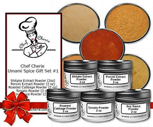 Chef Cherie's Umami Spice Gift Set #1