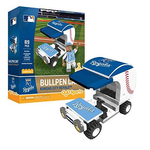 Kansas City Royals Bullpen Cart OYO Sports with Minifigure -