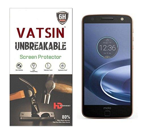 Vatsin Anti Shock Screen Guard for Moto Z Play