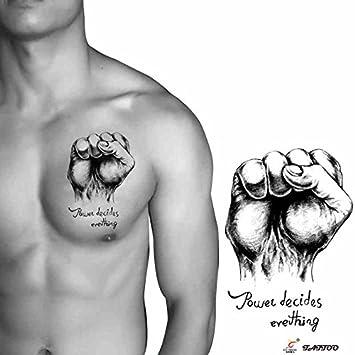 Zokey Original diseño impermeable tatuajes temporales pegatinas ...