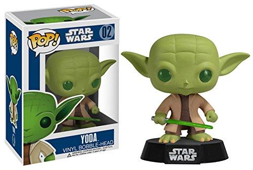 Star Wars - Yoda POP Figure Toy 3 x 4in