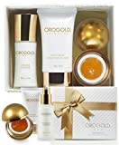 OROGOLD 24K Gold Luxury SkinCare Kit 2 | Holiday Gift Set for Women | Facial Care Set with Deep Peeling Gel, Milk Cleanser and Body Cream | Be Bold, Be-You-tiful