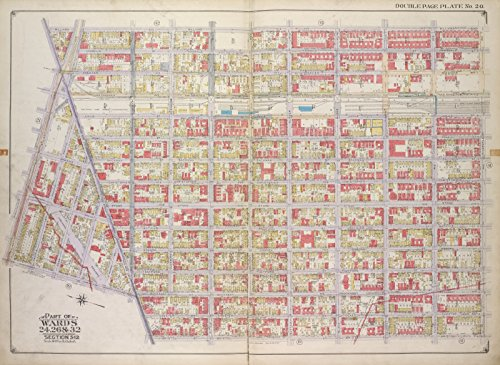 Map Poster - Brooklyn, Vol. 1, Double Page Plate No. 20; Par