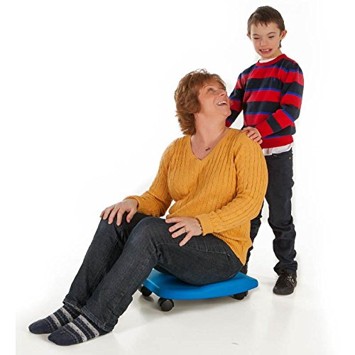 Fun and Function Red Durable Soft Tummy Scooter – Improves Balance, Posture and Coordination With Exercise for Ages 3+ by Fun and Function