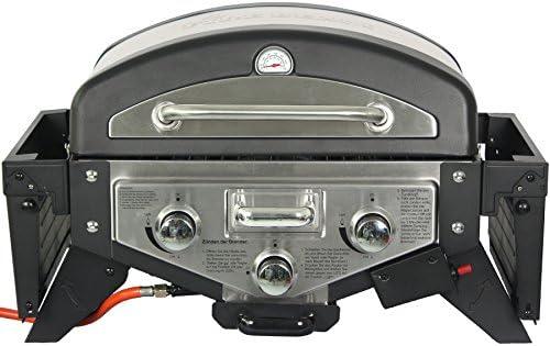 El Fuego Barbecue à gaz, medison, Argent, 38x 118.5x 52cm, ay5261