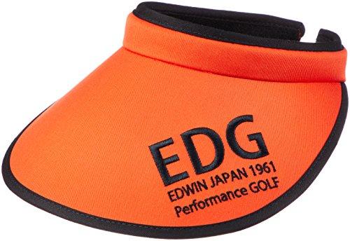 (エドウィンゴルフ) EDWIN GOLF(エドウィン ゴルフ) TCツイルツバ広クリップバイザー