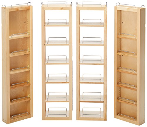"Rev-A-Shelf 45"" Swing Kit Pantry Organizer, Natural"