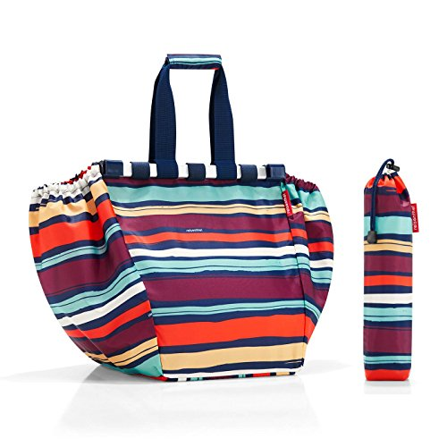 REISENTHEL BORSA PER LA SPESA EASY SHOPPINGBAG ARTIST STRIPES CON CUSTODIA