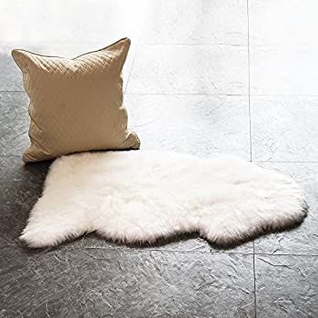 waysofttm 100 genuine sheepskin rug single pelt natural 2ft x 35ft