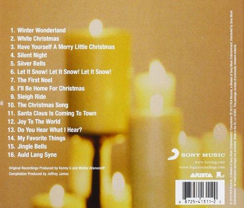 kenny g the classic christmas album amazoncom music