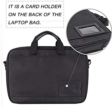 ROTANET Laptop Bag,11.6 to 15 Inch Laptop and Tablet Shoulder Bag Case LBM-01 Waterproof Business Messenger Briefcase for Men and Women Black