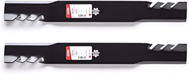 """Oregon 92-615 21-3//8/"""" G3 Toothed Mulch Blades John Deere GX22151 AM137328 2-Pack"""