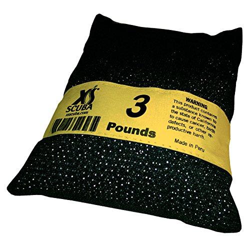 XS Scuba Shot Diving Weight Yellow 3 LB ()