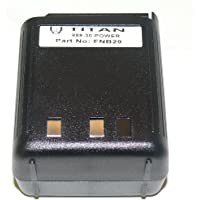 BatteryJack For VERTEX FNB-29 FNB-29A VX-520 VX-530 VX-537 Battery-18 Month Warranty