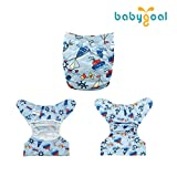 Babygoal Cloth Diaper Cover for Boys,Baby
