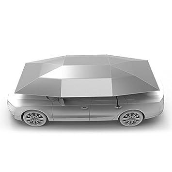 Car Tent Carport with Remote Control Folded Portable Automobile Protection Umbrella Sunproof Car Canopy Cover(  sc 1 st  Amazon.com & Amazon.com: Car Tent Carport with Remote Control Folded Portable ...