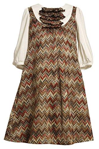Zig Zag Knit Dress - 8