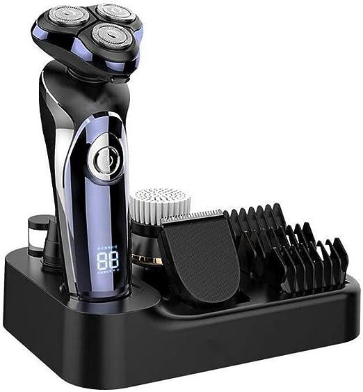 HYFZY Maquinilla de Afeitar 4 en 1 para afeitadora eléctrica ...