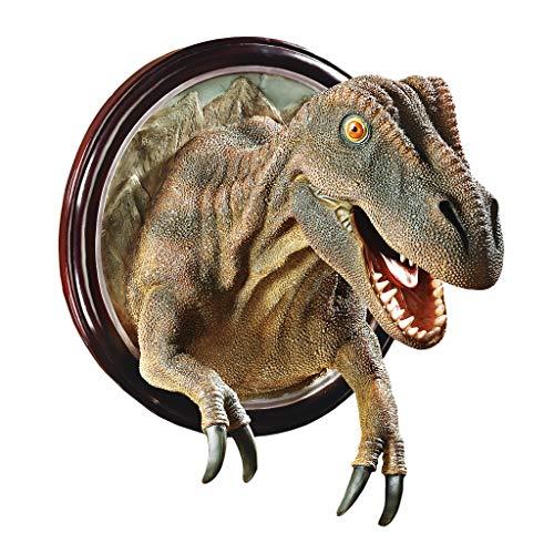 (Design Toscano T-Rex Dinosaur Trophy Wall Sculpture)