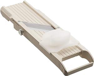 Benriner No. 64 Japanese Mandolin Ivory Vegetable Slicer