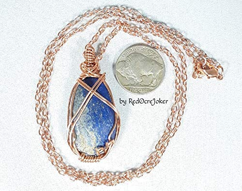 e5f416c13c295a Amazon.com: Energy Infused Lapis Lazuli Genuine Semi Precious Stone ...