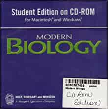 modern biology holt rinehart and winston pdf